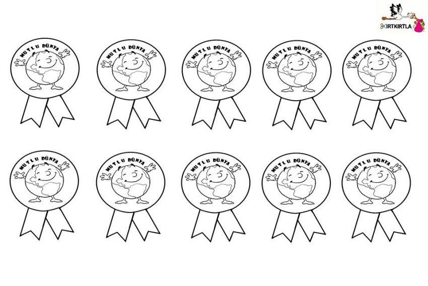 Mutlu Dünya Rozeti Değerler Eğitimi Sorumluluk Haftasi