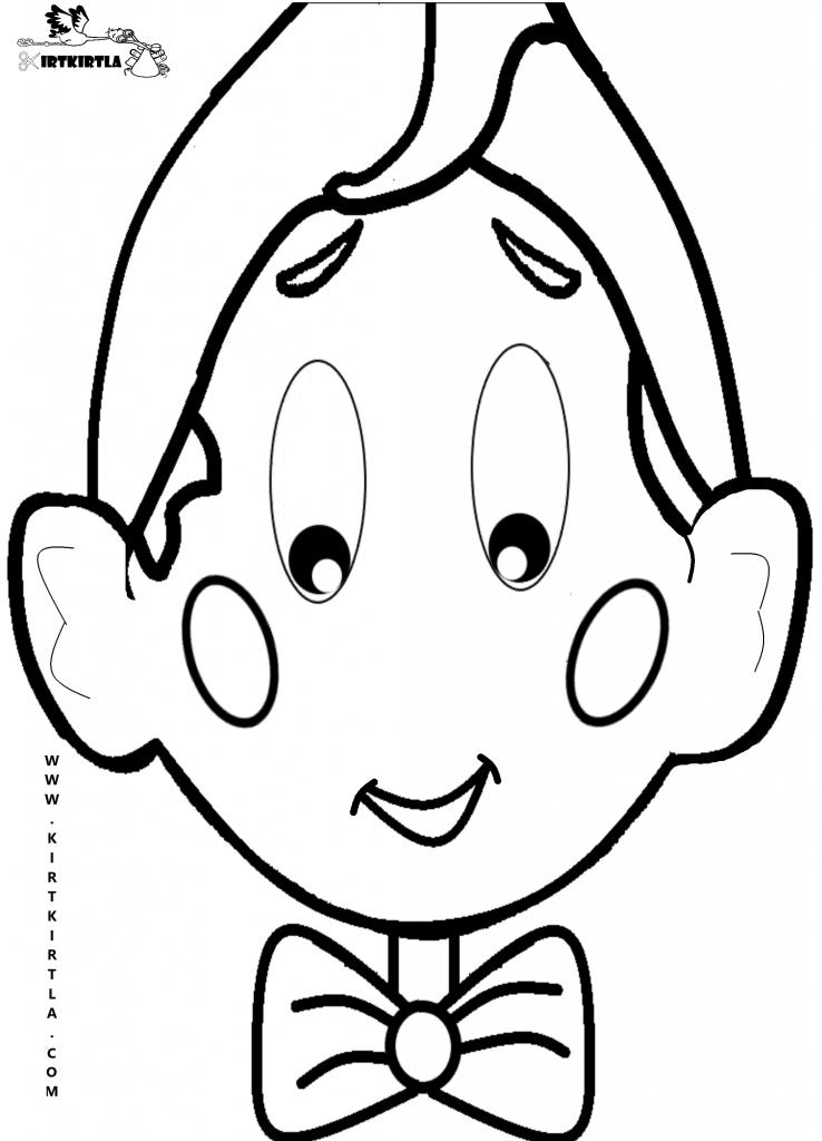 Pinokyo Boyama Sayfasi Kirtkirtlacom