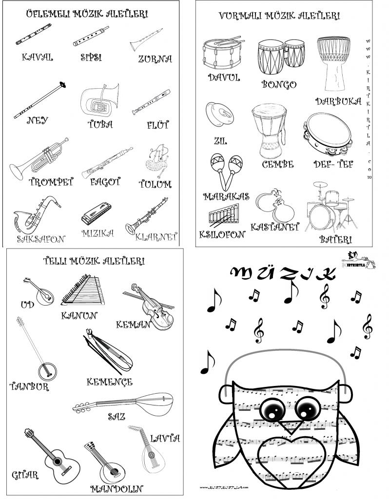 Müzik Nedir Müzik Aletleri Nelerdir Kirtkirtla