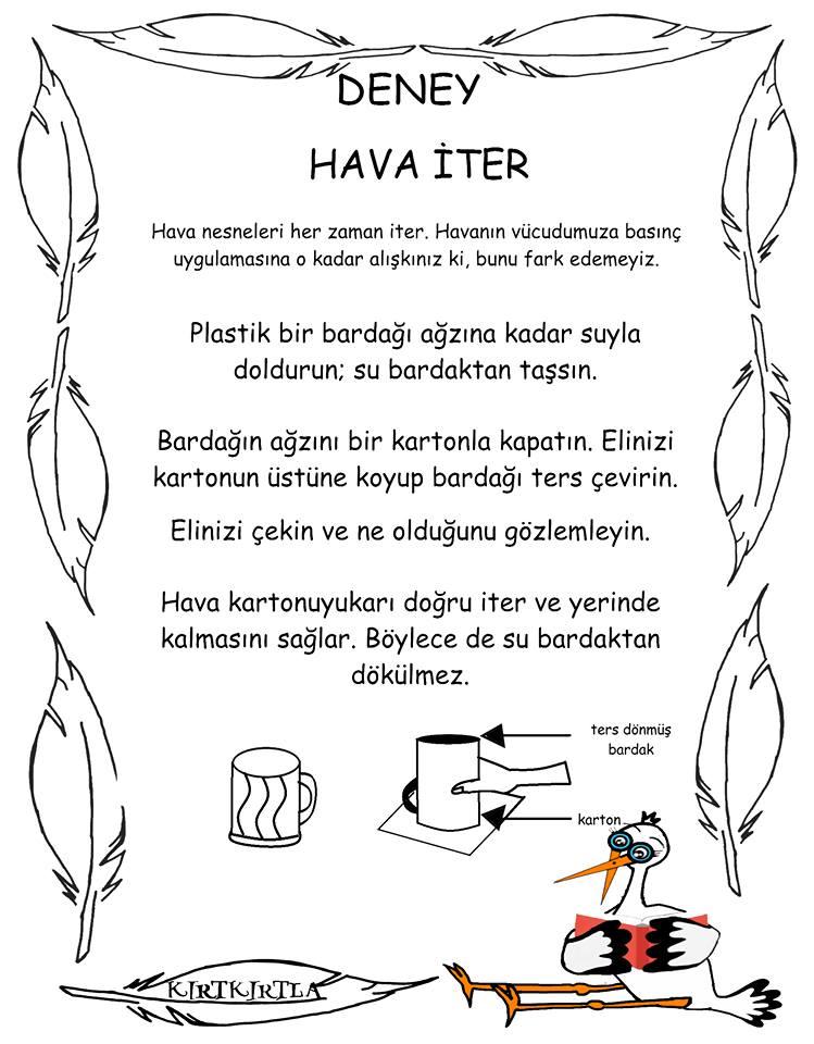 HAVA İTER -DENEY -OKUL ÖNCESİ -