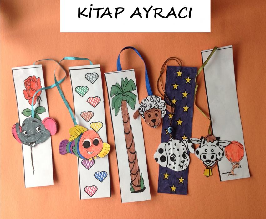 Kitap Ayraci Boyama Sayfasi Okul Oncesi Etkinlik Kirtkirtla