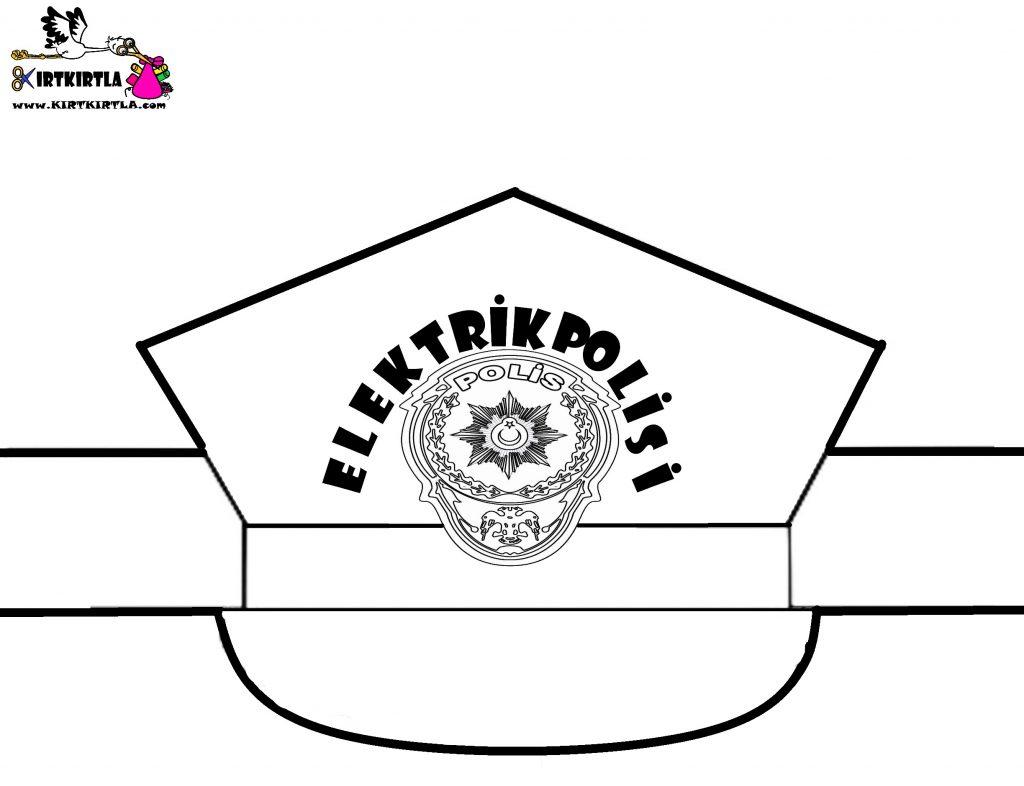 OKUL ÖNCESİ ETKİNLİK-POLİS ŞAPKASI