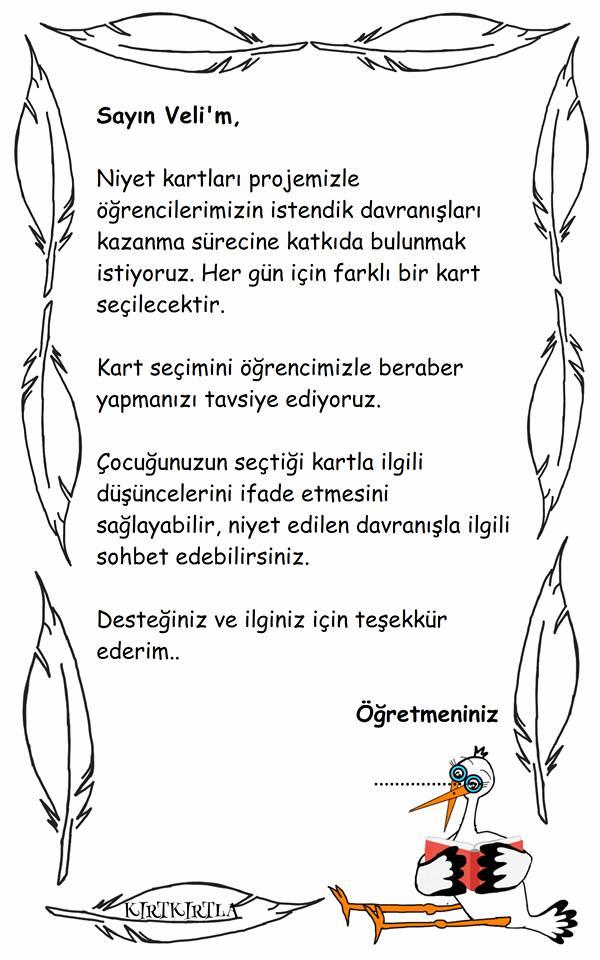 NİYET KARTLARI KIRTKIRTLA   - NİYET KARTLARI