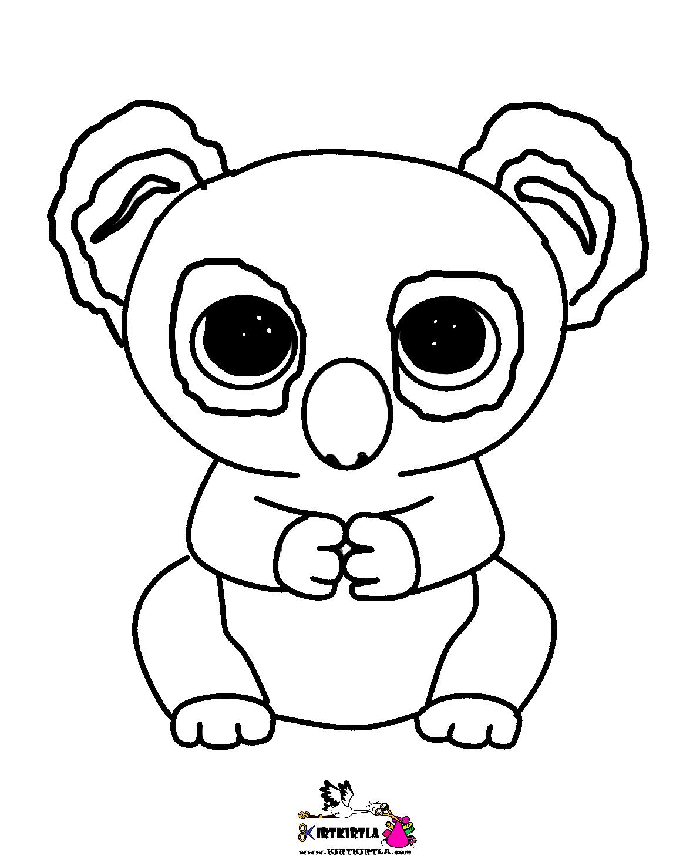 Koala Boyama Sayfasi Kirtkirtla Koala Boyama Sayfası Kirtkirtla