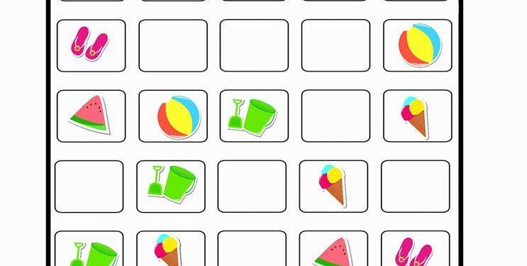 Sudoku 11 Okul Oncesi Zeka Gelistirici Calisma Sayfa Ornekleri