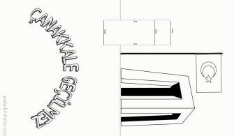 Canakkale Boyama Sayfasi Yazilari Kirtkirtla