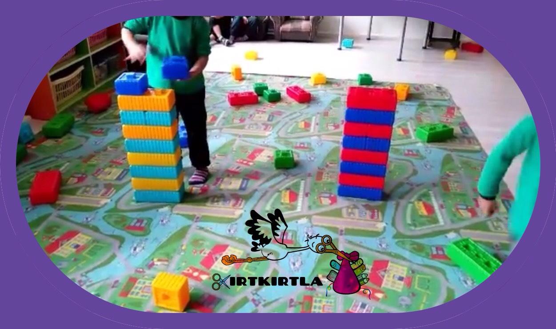 Traş Köpüğü Okul öncesi Oyun önerisi Kirtkirtla