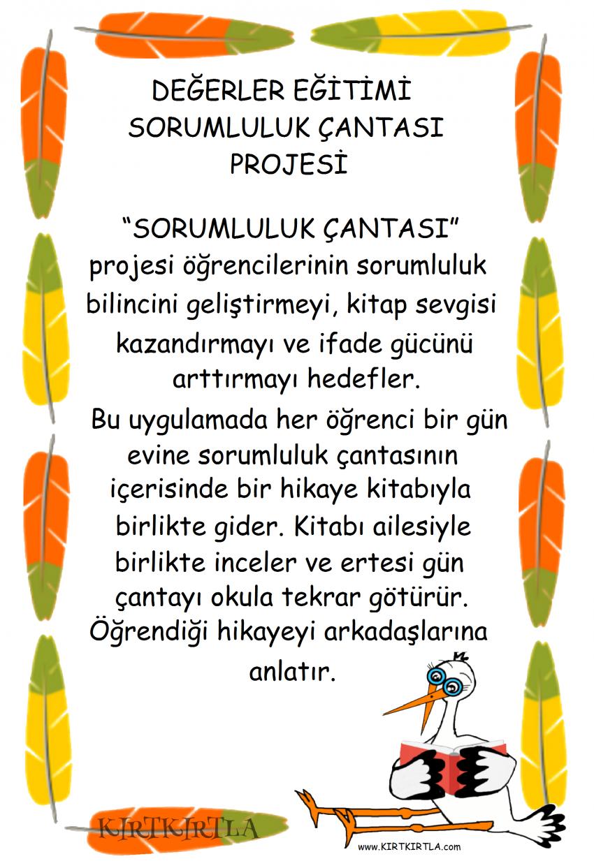 Sorumluluk Projesi Bilgi Sayfasi Egitim Projeleri