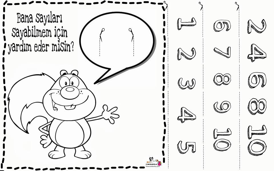 Ritmik Sayma 5 çalişma Sayfasi Okul öncesi Kirtkirla