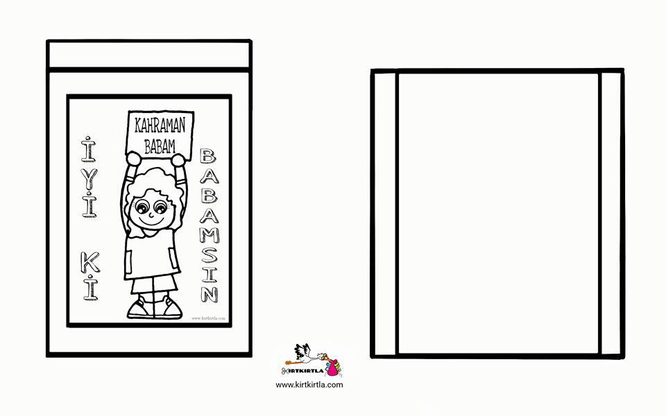Okul öncesi Boyama Sayfasi Yazıları Kirtkirtla