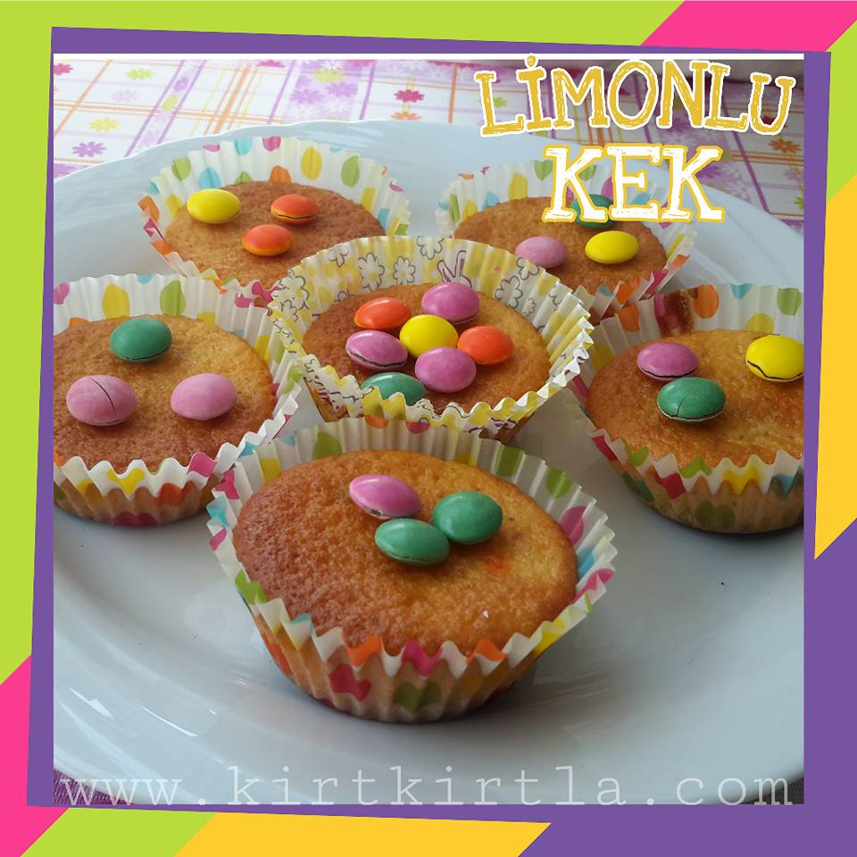 LİMONLU MİNİ KEK (MUFFİN)