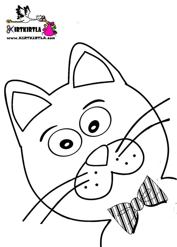 (Yeni 2019) Kedi Boyama Sayfaları