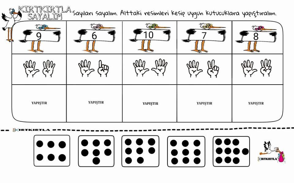 kırtkırtla sayılar  4 kırtkırtla - KIRTKIRTLA SAYILAR 4