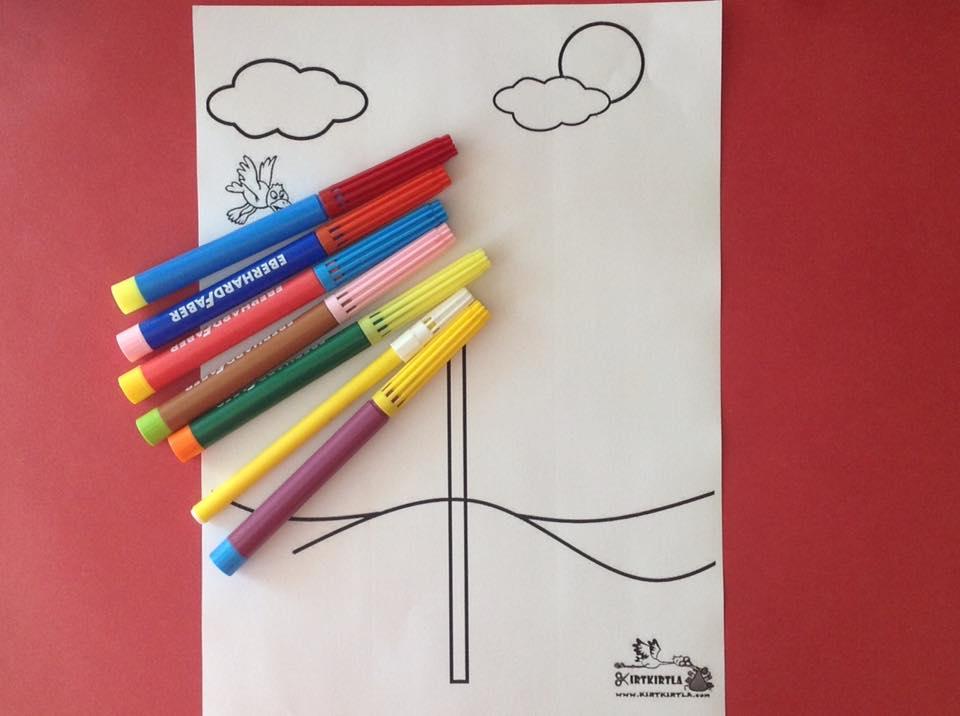 okul öncesi sanat etkinliği ayçiçeği makas çalışmaları kesme KIRTKIRTLA 10 - AYÇİÇEĞİ SANAT ETKİNLİĞİ
