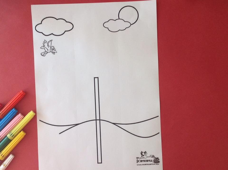 okul öncesi sanat etkinliği ayçiçeği makas çalışmaları kesme KIRTKIRTLA 9 - AYÇİÇEĞİ SANAT ETKİNLİĞİ