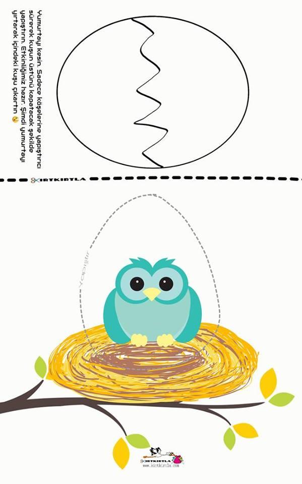Catlak Yumurtalar 6 Okul Oncesi Etkinlik Okul Oncesi Craft