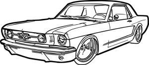 okul öncesi araba boyama sayfaları