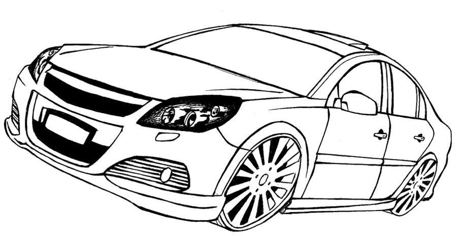 Araba Resimleri Boyama Ust Ev Boyama Sayfasi