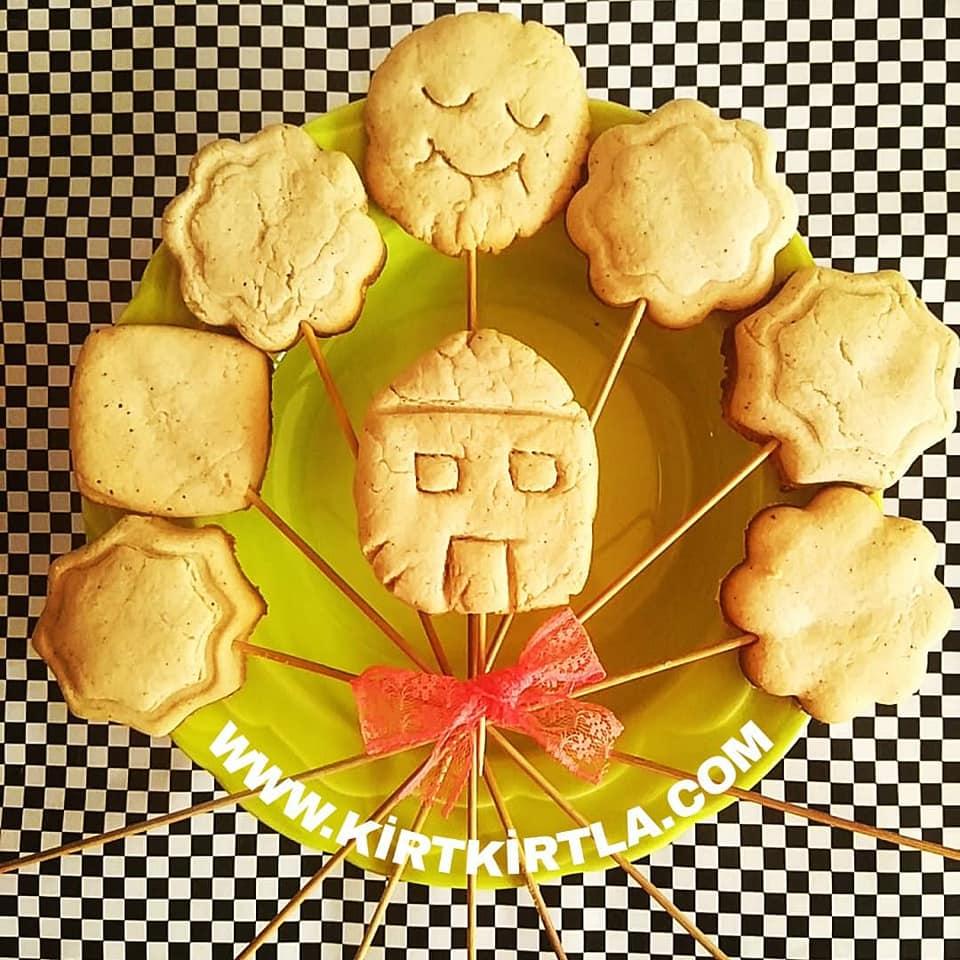 kurabiye 12 kırtkırtla - KURABİYE