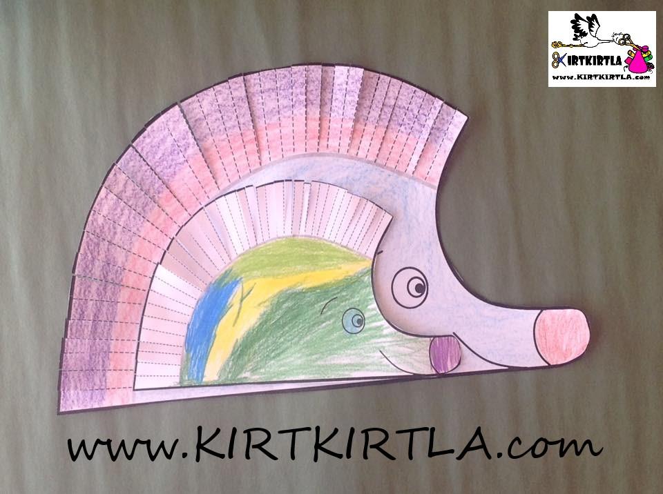 makas çalışma sayfası,Kirpi