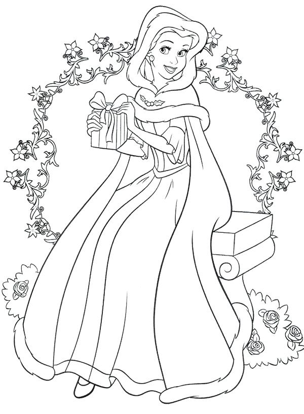 Prenses Boyama Sayfalari Ust Ev Boyama Sayfasi