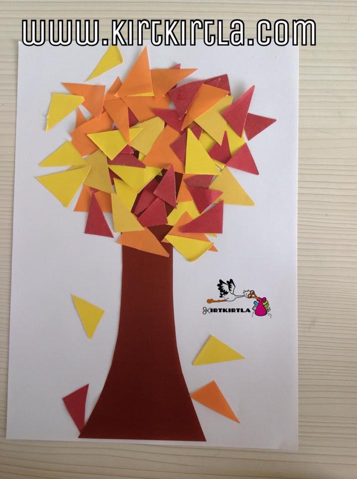 Üçgen Yapraklı Ağaç