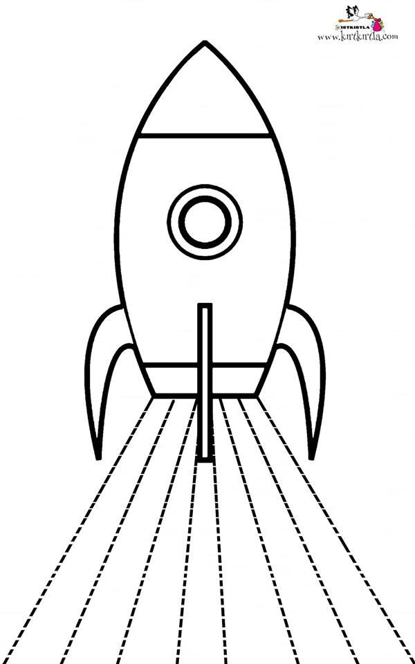 Roket Makas çalışmaları Okul öncesi Preschool Kırtkırtla
