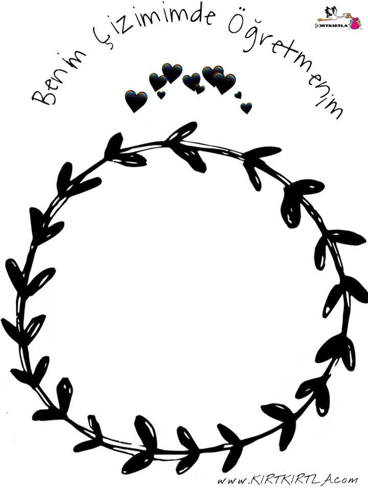 öğretmenler Günü Boyama Sayfası Yazıları Kirtkirtla