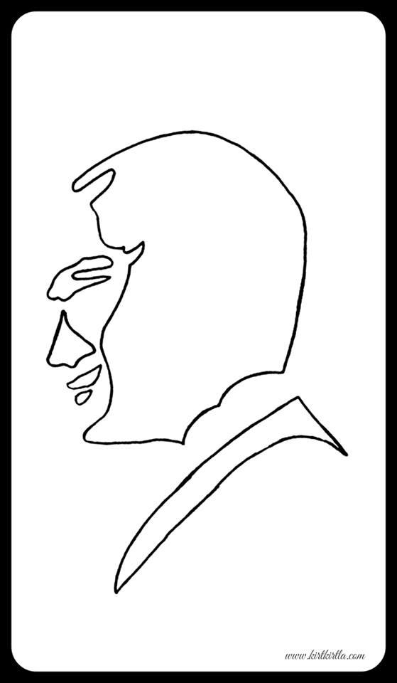 Ataturk Portresi Ataturk Okul Oncesi Etkinlik