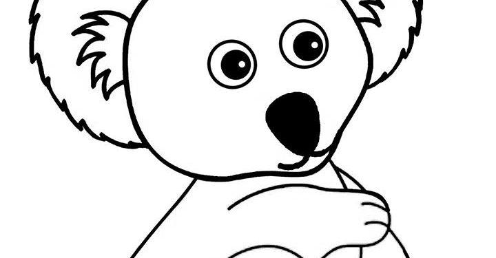 Boyama Sayfasi Koala Kirtkirtla Koala