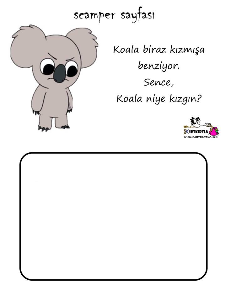 SCAMPER KOALA