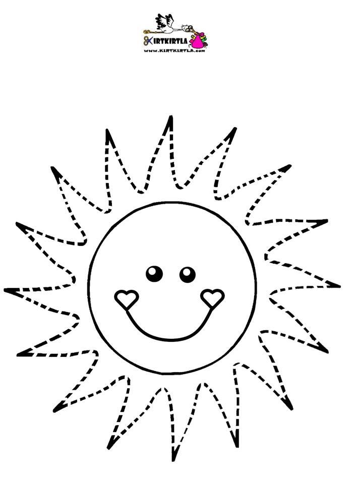 güneş makas çalışması