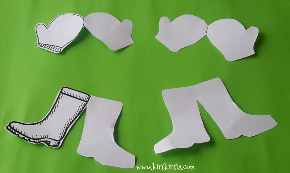 eldive çizme makas çalışması 10 kırtkırtla - ELDİVEN VE ÇİZME