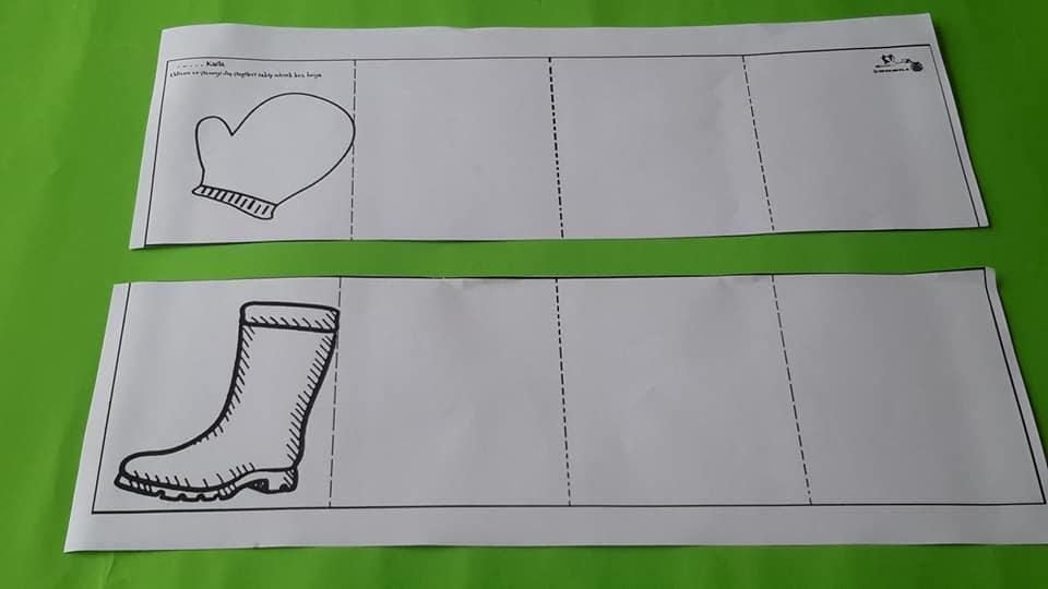 eldive çizme makas çalışması 14 kırtkırtla - ELDİVEN VE ÇİZME