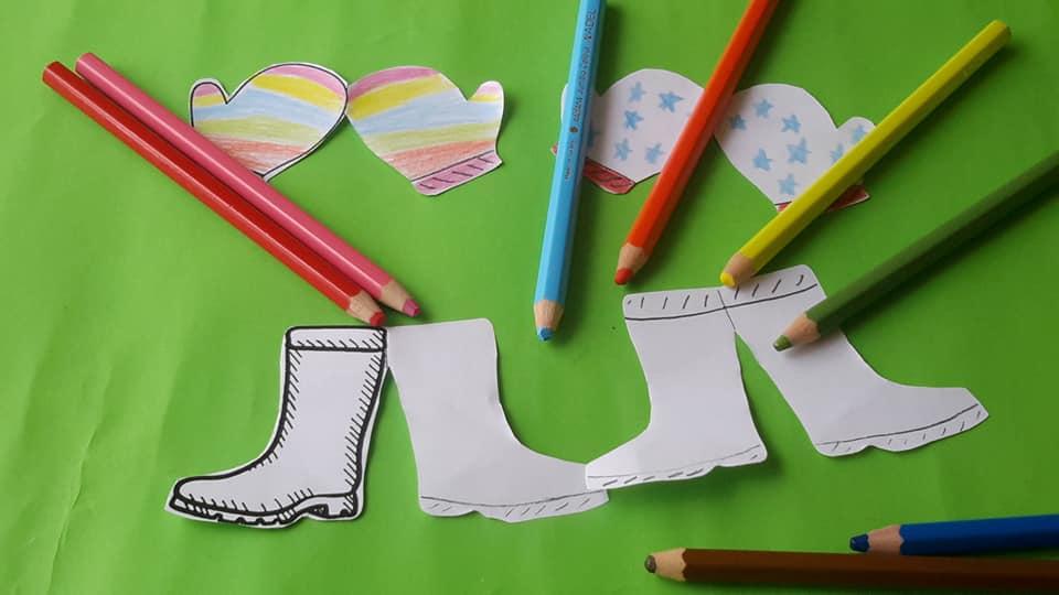 eldive çizme makas çalışması 6 kırtkırtla - ELDİVEN VE ÇİZME