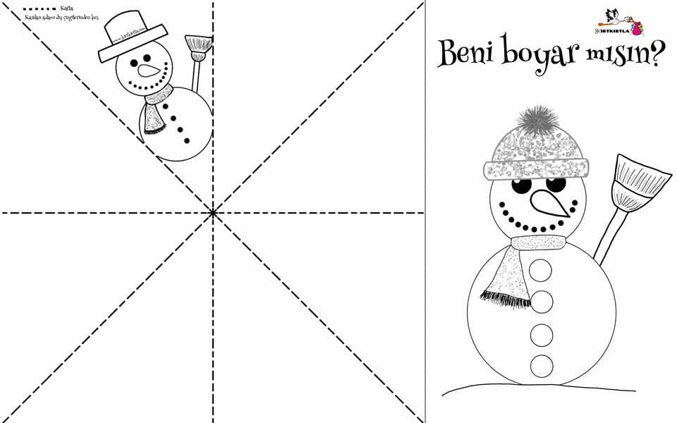 kardan adam boyama kırtkırlta - KARDAN ADAMLAR