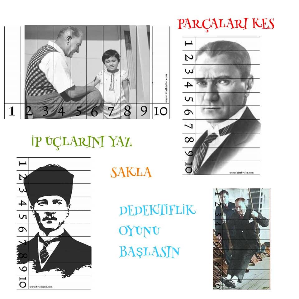 parçaları birleştir 2 kırtkırtla - KIRTKIRTLA AİLESİ HAFTA SONU ETKİNLİĞİ- PUZZLE