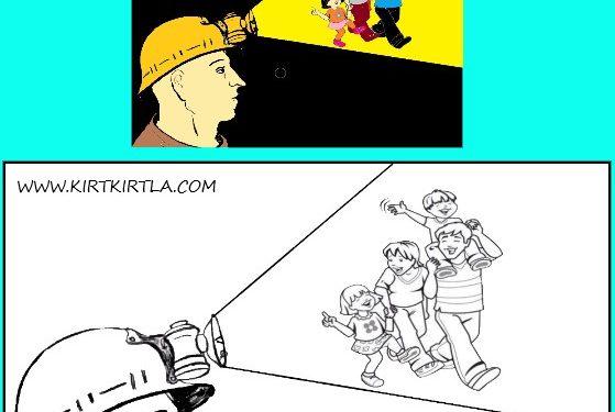 Madenciler Günü Boyama Sayfası