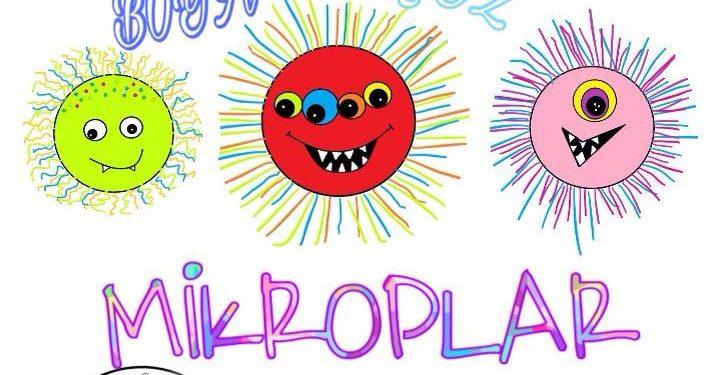 Mikroplar Boyama Sayfası Kirtkirtla