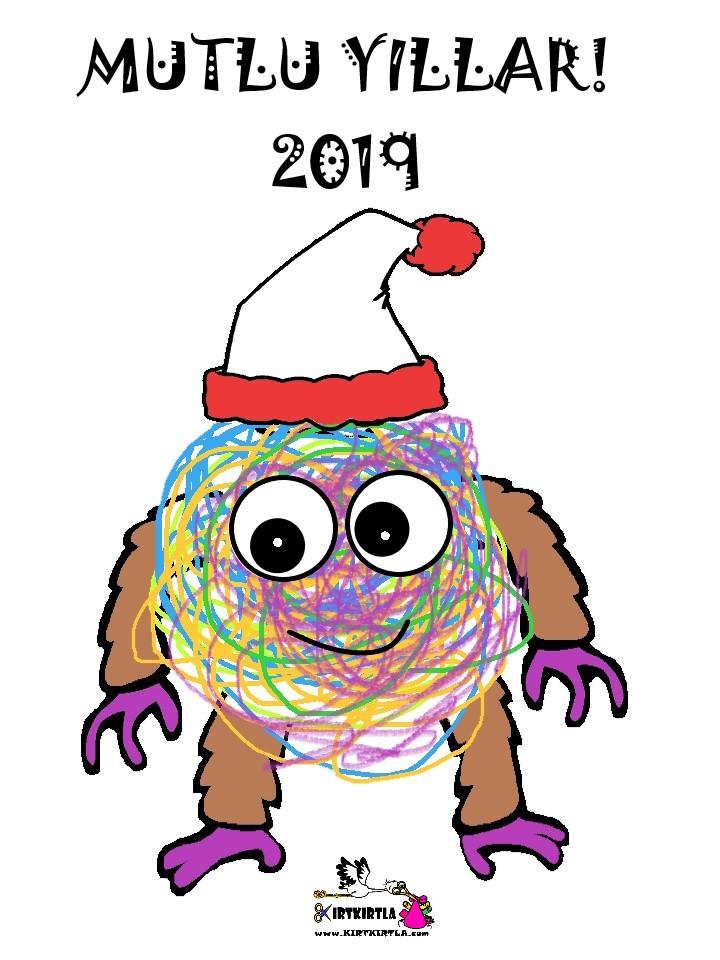 Canavarlar Yeni Yılınız Kutlu Olsun Kirtkirtla
