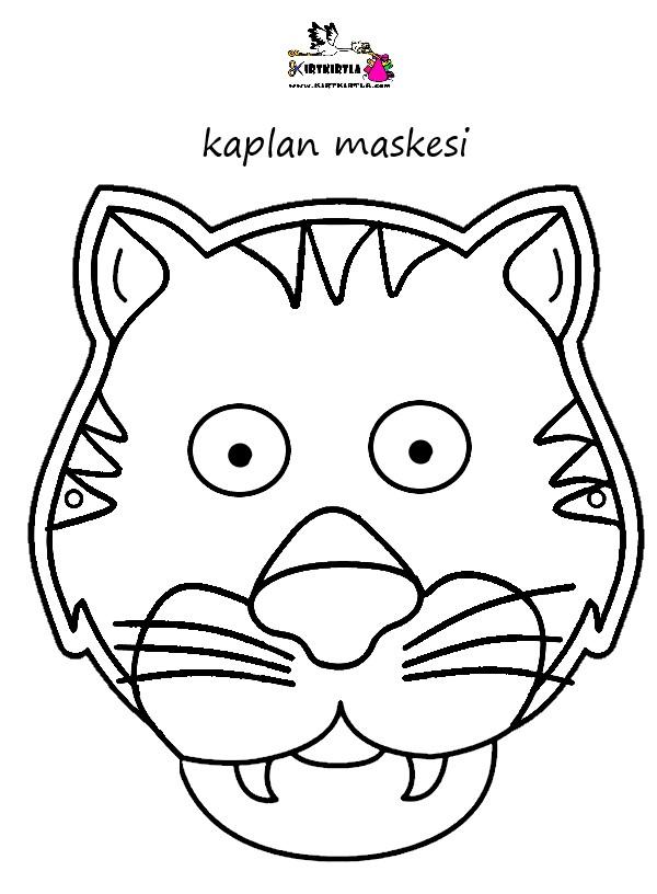 Kaplan Maskesi Kirtkirtla