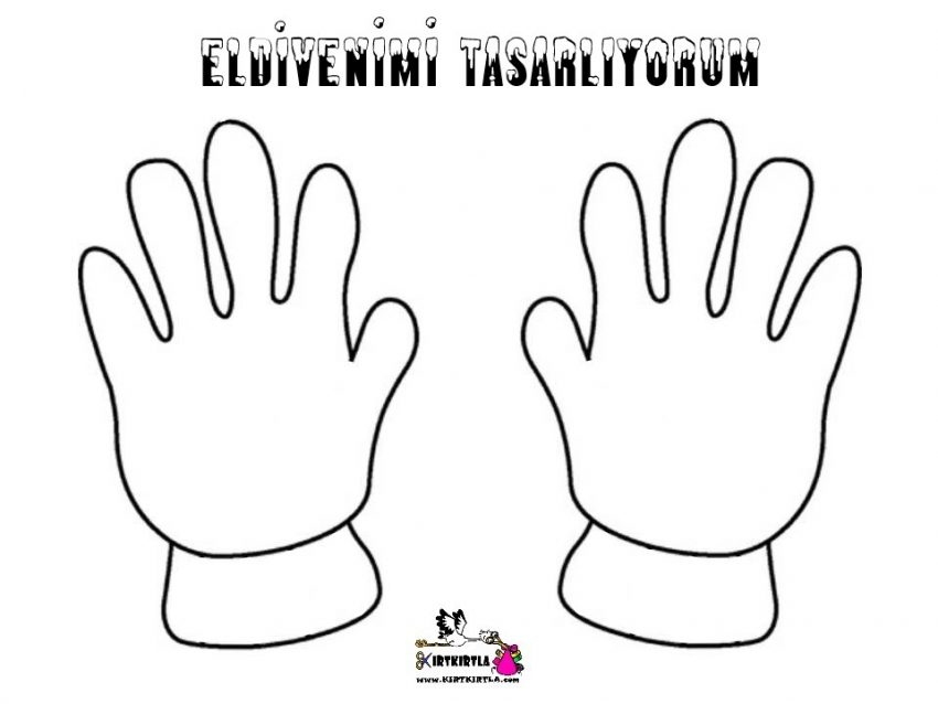 Eldiven Tasarimi Glove Design Kirtkirtla