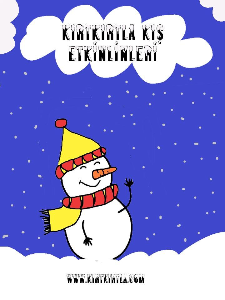 Kardan Adam Boyama Sayfasi Tlwinter Winter Snowman