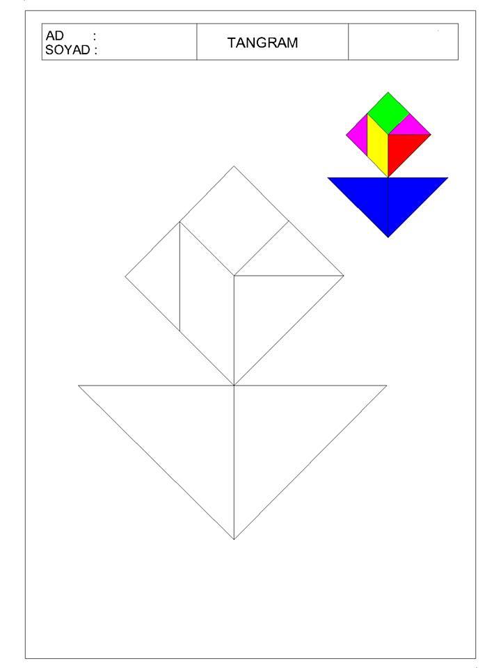 okul öncesi tangram 14 - TANGRAM-13