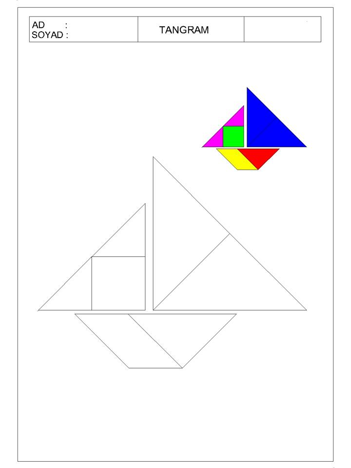okul öncesi tangram 15 - TANGRAM-14