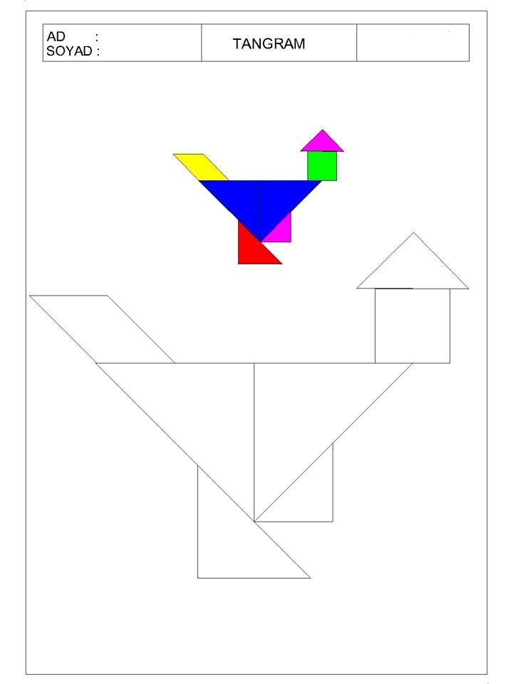 okul öncesi tangram 18 - TANGRAM-17