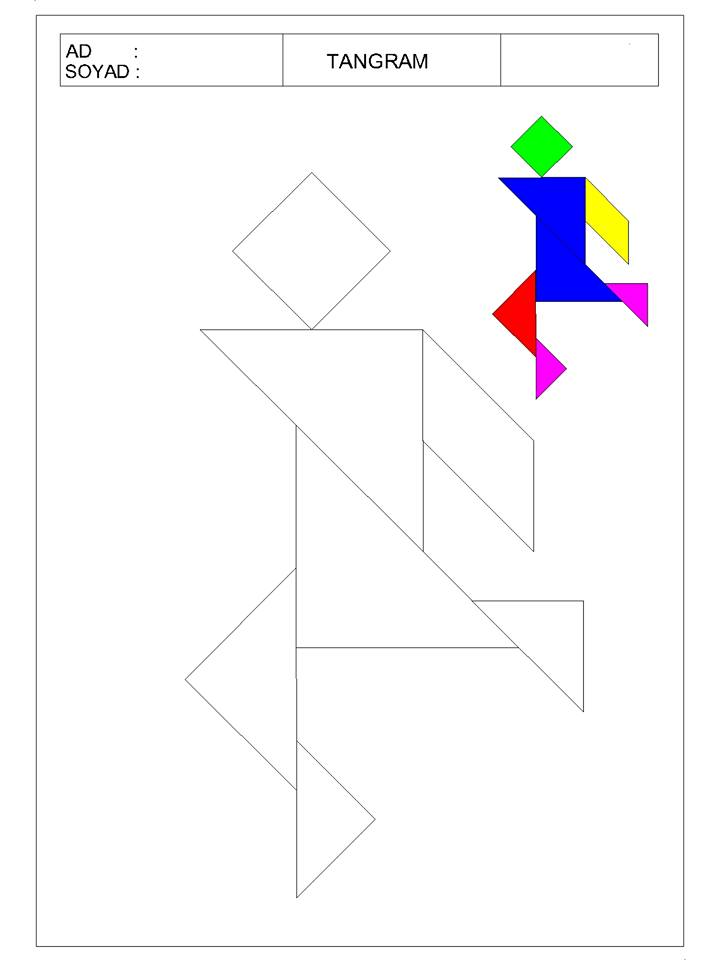 okul öncesi tangram 5 - TANGRAM-4
