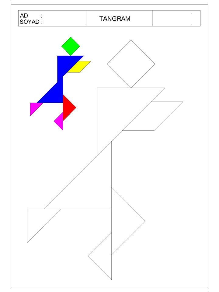 okul öncesi tangram 9 - TANGRAM-8