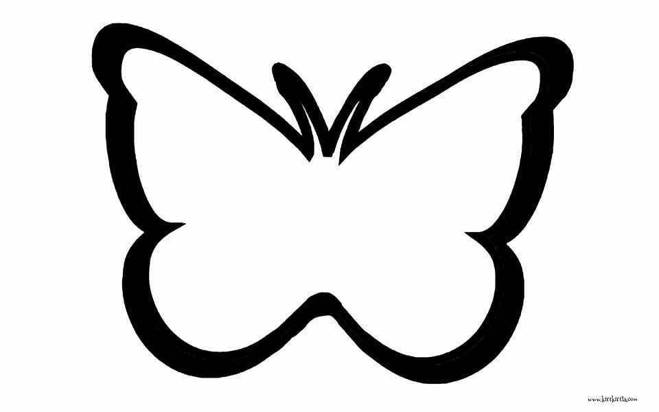 Kelebek Etkinligi Okul Oncesi Sanat Etkinligi Kirtkirtla