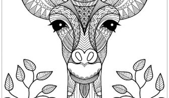 Zürafa Boyama Sayfasi Yazıları Kirtkirtla